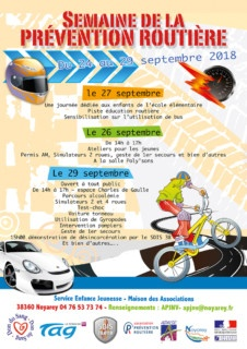 Noyarey semaine de prevention routiere septembre 2018